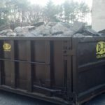 A Picture Of A Dumpster Available For Rental In Ashland, MA - B-P Trucking Inc