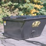 Image of a dumpster rental provided by B-P Trucking, Inc. in Ashland, MA