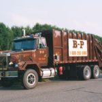 Rear-load waste packer of B-P Trucking Inc